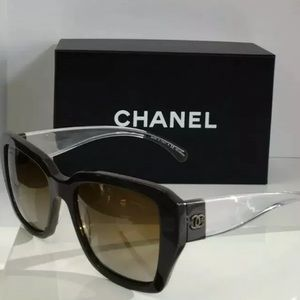 Chanel 5263 1276/S9 Brown Polarized Sunglasses